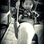 She loves to swing