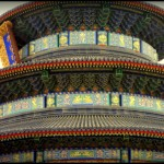 Close up of the Temple of Heaven