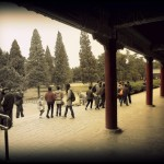 Park outside of the Temple of Heaven